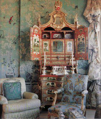 mon boudoir chinois de la ruelle au salon. Black Bedroom Furniture Sets. Home Design Ideas