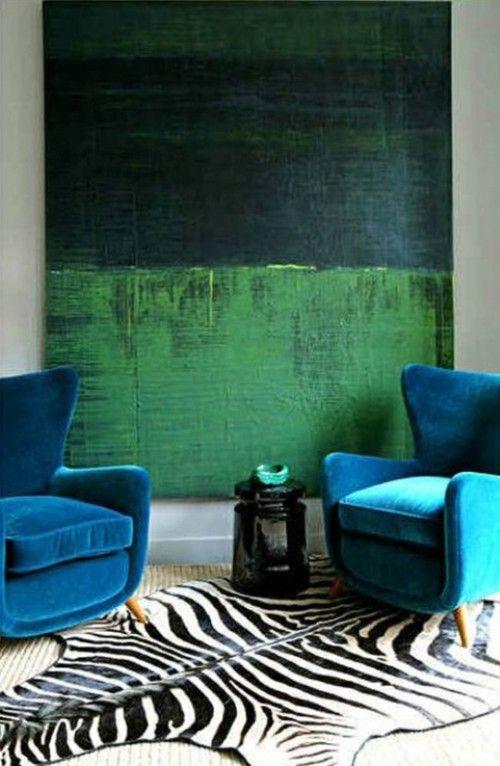 Salon Vert Emeraude