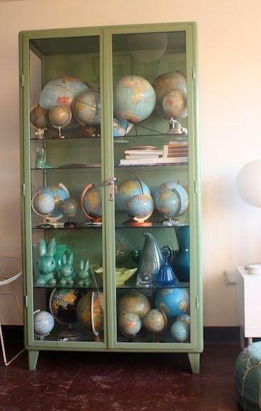 Les globes terrestres