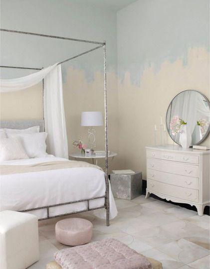 peindre les murs par section de la ruelle au salon. Black Bedroom Furniture Sets. Home Design Ideas