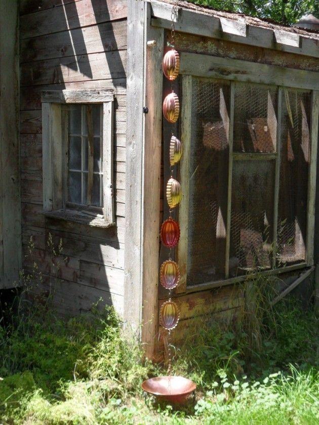 13 id es fantastiques de recyclage dans le jardin - Deco jardin recyclage ...