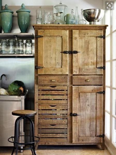 Int grer un meuble vintage dans votre cuisine de la ruelle au salon - Ou trouver des meubles d occasion ...